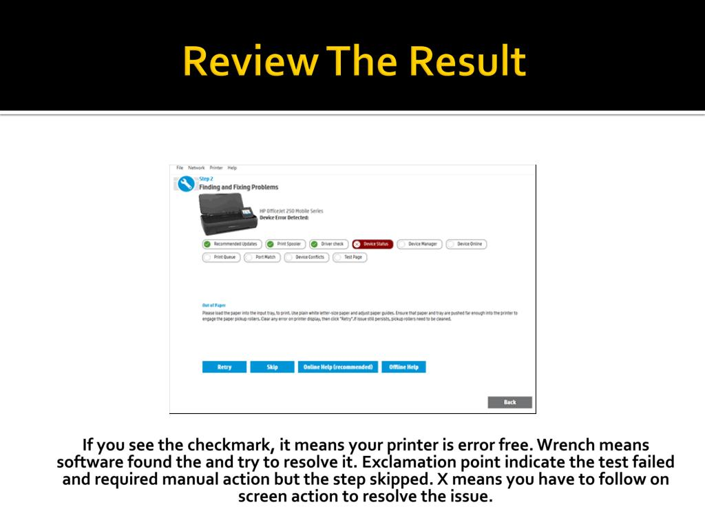 PPT - The Quick Method To Fix HP Printer And Scanner Error