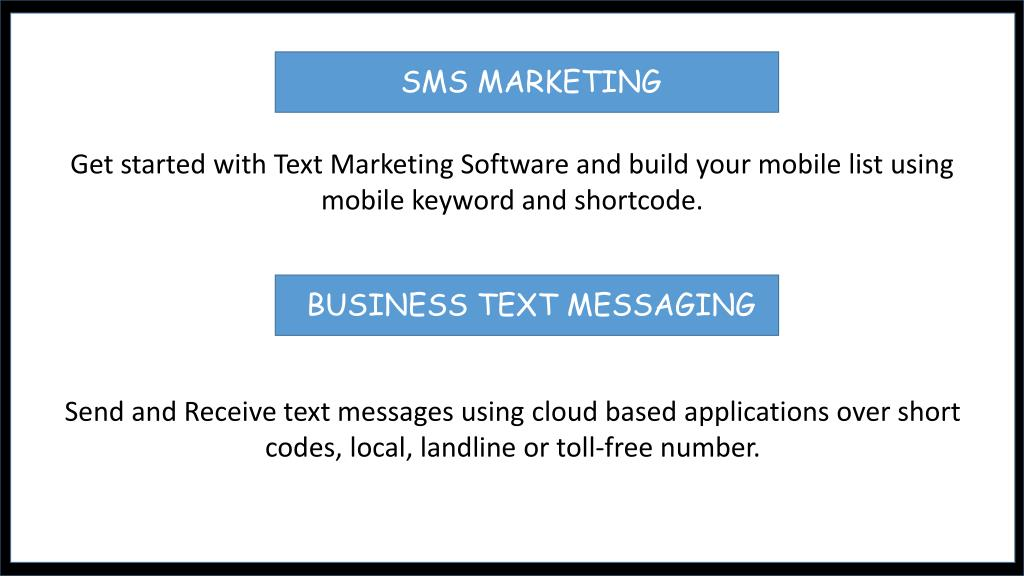 PPT - Perfect Solution for Text Marketing | TXT Impact