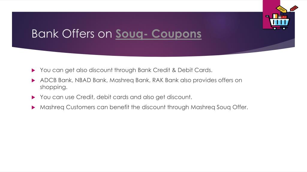 PPT - Souq Coupon PowerPoint Presentation - ID:7959273