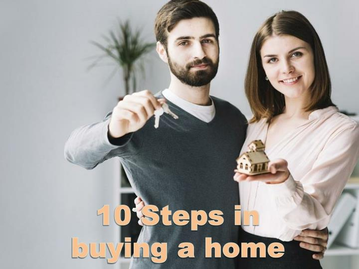 10 steps in buying a home n.