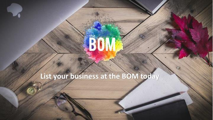 list your business at the bom today n.