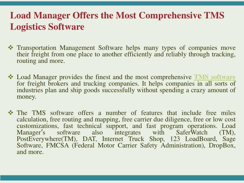 Trucking Management Software