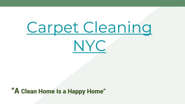 carpet cleaning nyc n.