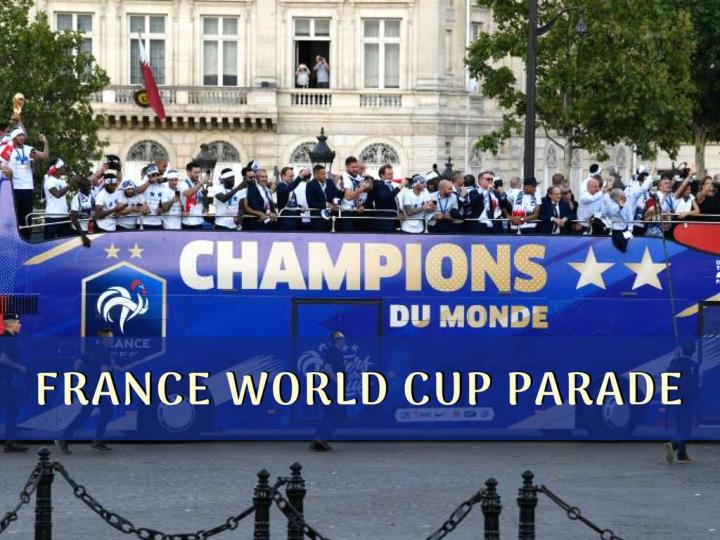 france world cup parade n.