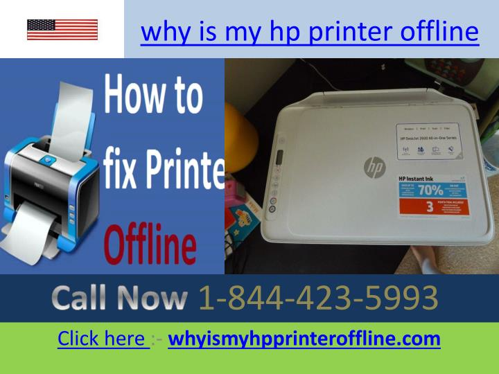 why is my hp printer offline n.