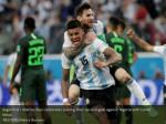 argentina s marcos rojo celebrates scoring their