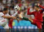 iran s majid hosseini in action with portugal