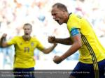 sweden s andreas granqvist celebrates scoring