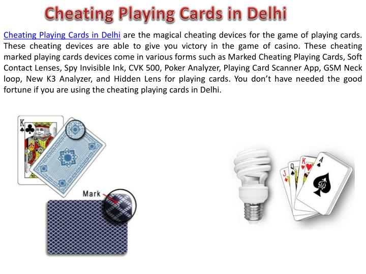 cheating playing cards in delhi n.