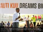 obama addresses delegates at the basketball court