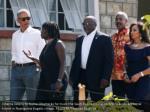 obama listens to auma obama as he tours the sauti