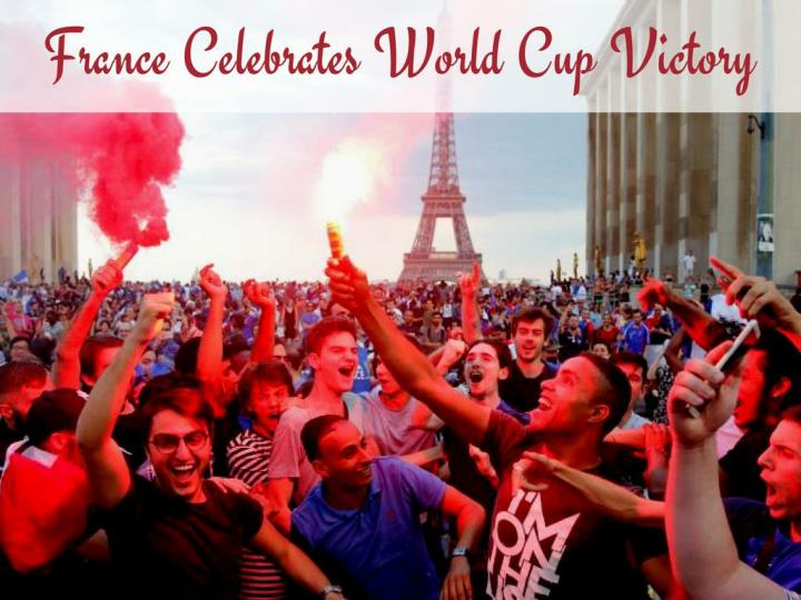 france celebrates world cup victory n.