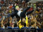 france players celebrate winning the world