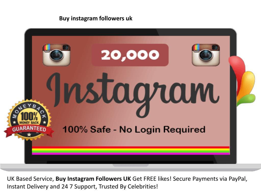 PPT - buy instagram followers uk PowerPoint Presentation - ID:7961086