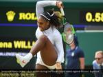 serena williams of the u s in action during 2