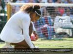 serena williams of the u s reacts during