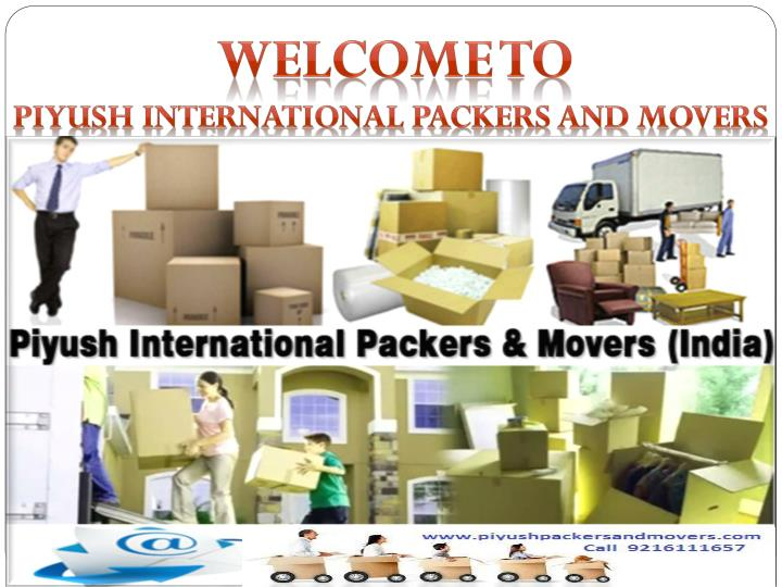 welcome to piyush international packers and movers n.