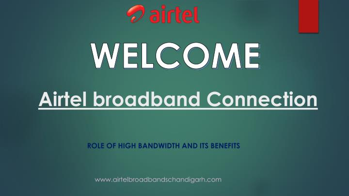 airtel broadband connection n.