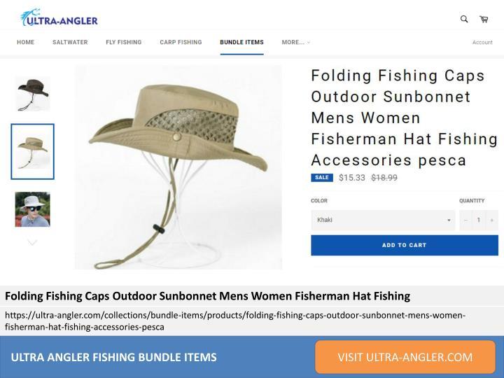 de607fb72c77a Folding Fishing Caps Outdoor Sunbonnet Mens Women Fisherman Hat Fishing