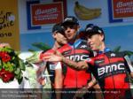 bmc racing team rider richie porte of australia
