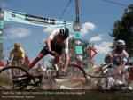 team sky rider chris froome of britain crashes