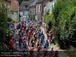 the peloton in action during stage 8 reuters