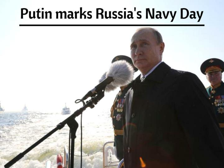 putin marks russia s navy day n.