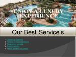 our best service s
