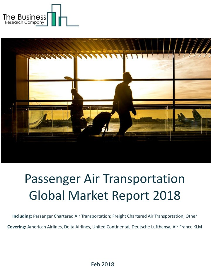 passenger air transportation global market report n.
