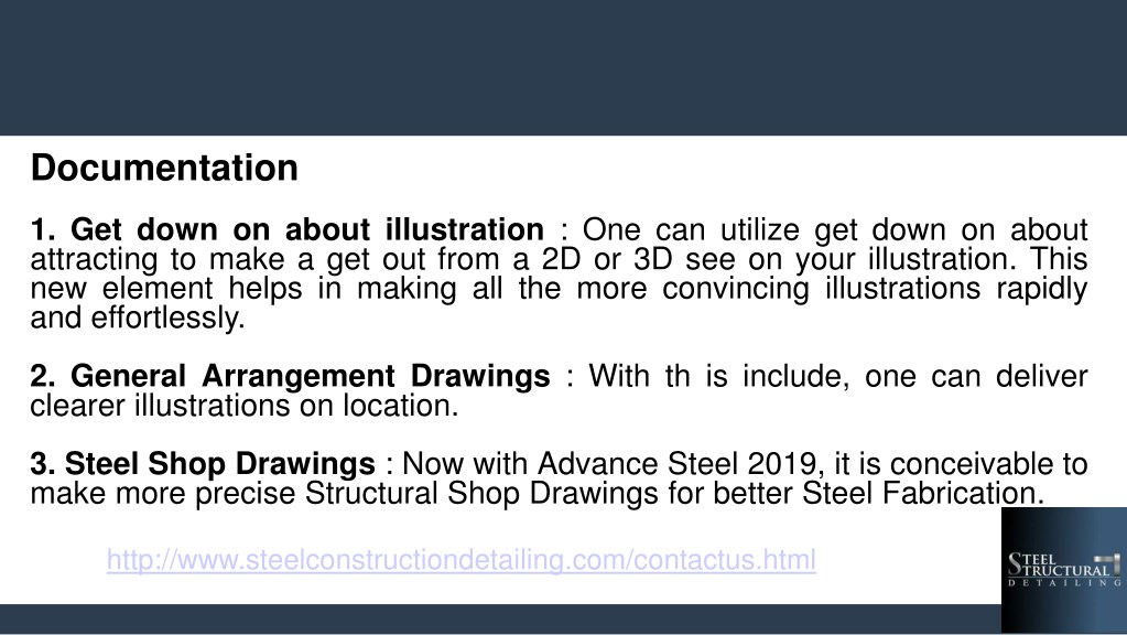 PPT - What's new in store for Steel Detailing - Steel