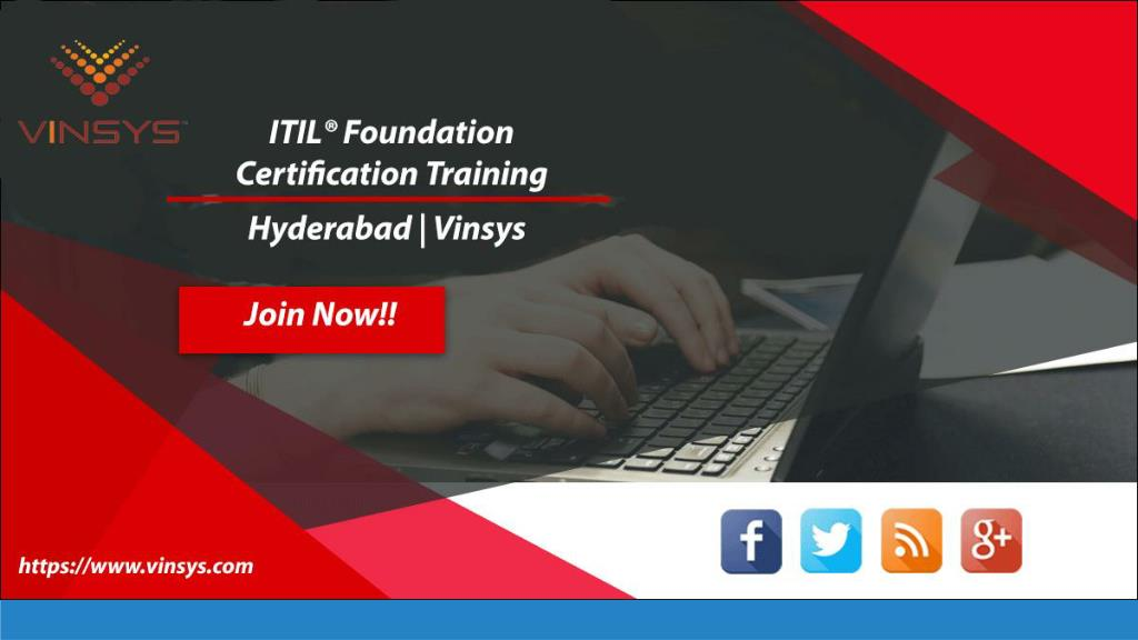Ppt Itil Foundation Certification Training Course Hyderabad