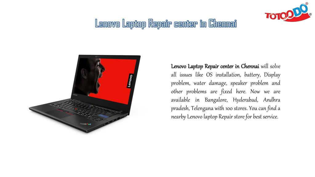 PPT - Get Best Lenovo Laptop Service in Totoodo Laptop