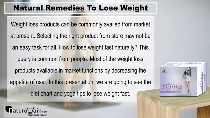Ppt Diet Chart Yoga And Natural Remedies To Lose Weight Fast
