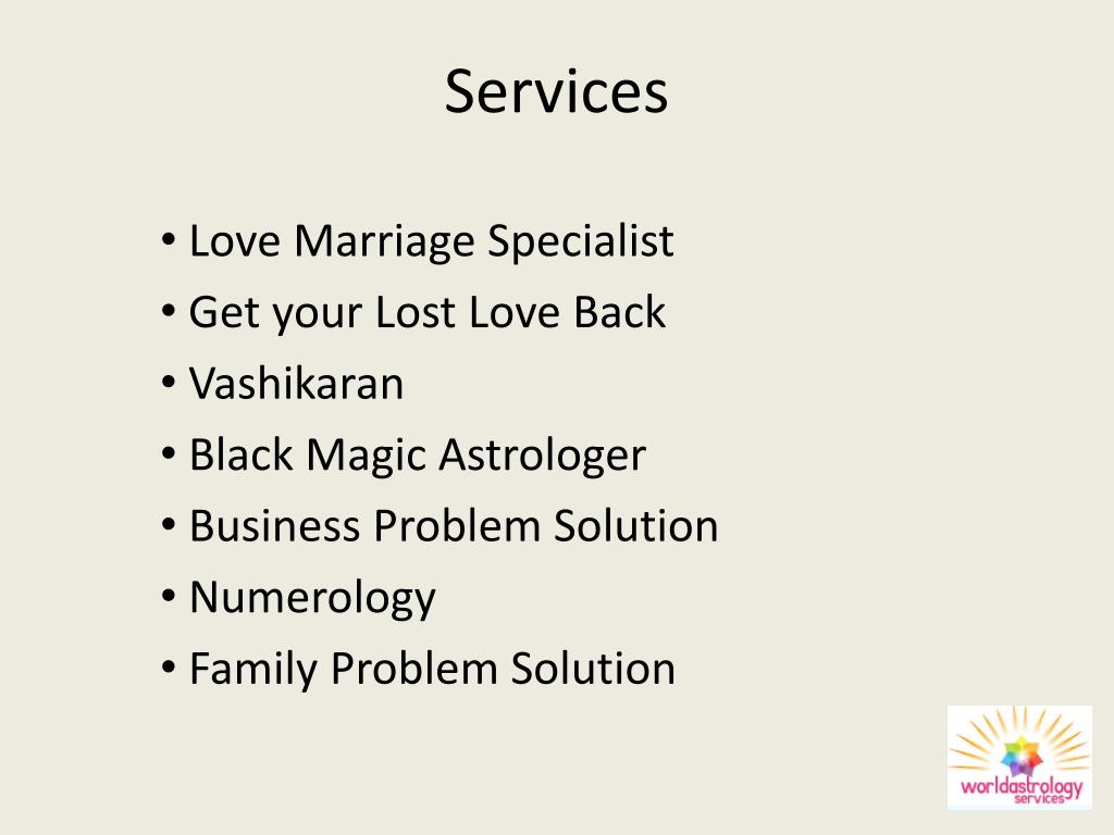 PPT - Love Marriage Specialist – Astrologer Shubham Sharma