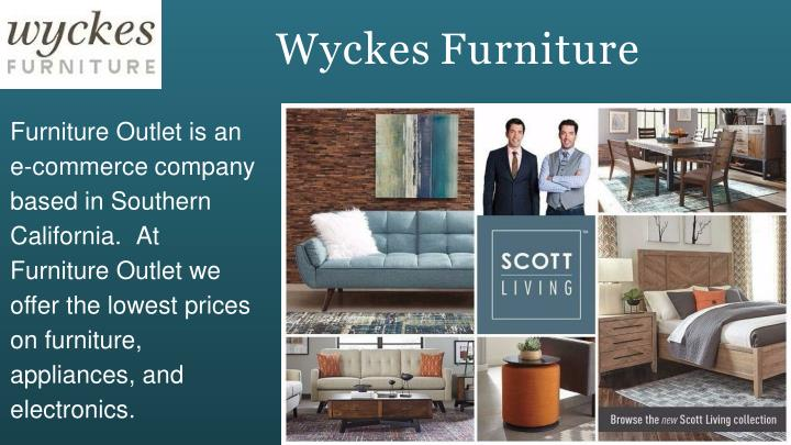 Ppt Online Furniture Outlet Store Powerpoint Presentation Id 7967002