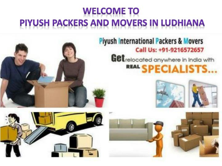 welcome to piyush packers and movers in ludhiana n.