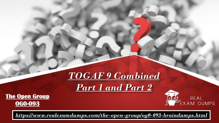 togaf 9 combined part 1 and part 2 n.