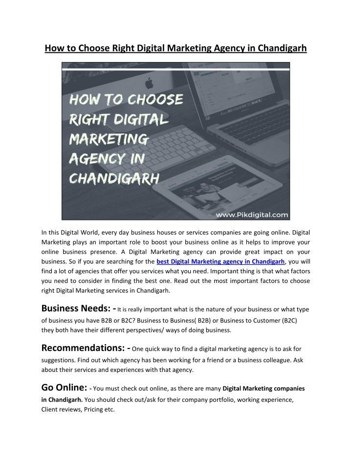 how to choose right digital marketing agency n.