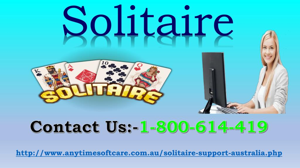 PPT - Free Solitaire Games 1-800-614-419 | Expert Advice