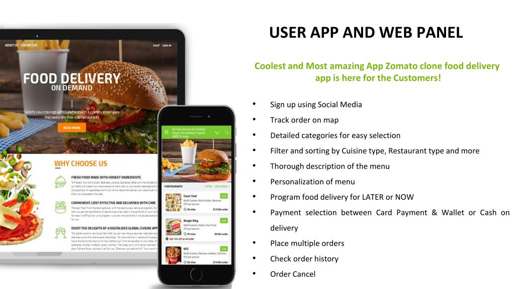 PPT - Build Your Food Business with the Zomato Clone App PowerPoint