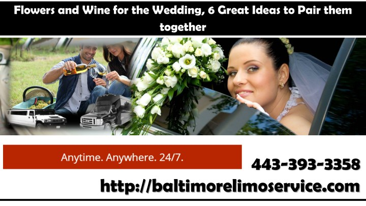 flowers and wine for the wedding 6 great ideas n.