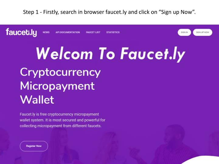 PPT - Free Bitcoin Faucets Script by Faucet ly PowerPoint