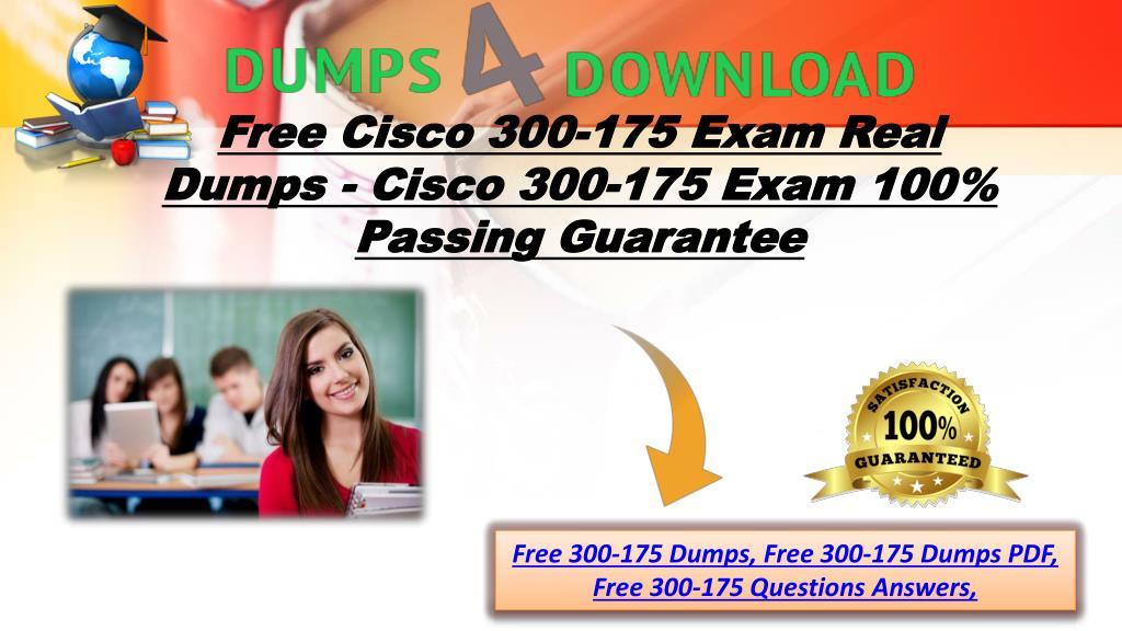 PPT - Free Valid Cisco 300-175 Exam Study Guide - Cisco 300-175