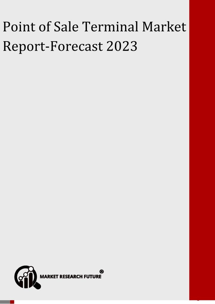 point of sale terminal market report forecast n.