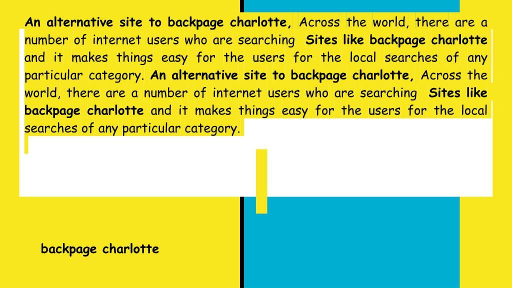 Charlotte com www backpage Florida Backpage