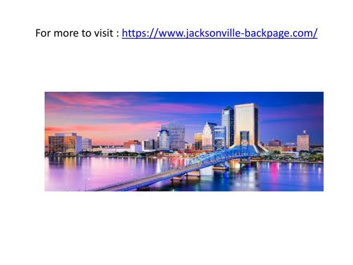 backpage jacksonville fl