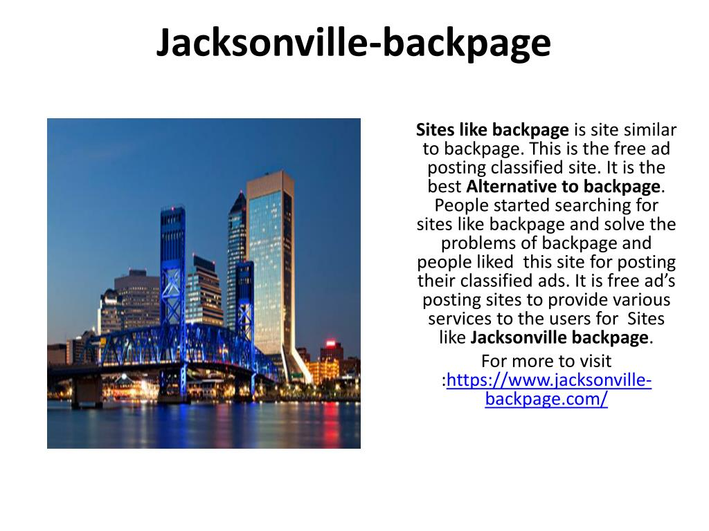 backpage and similar sites