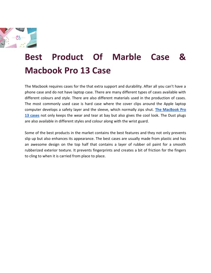 best product of marble case macbook pro 13 case n.
