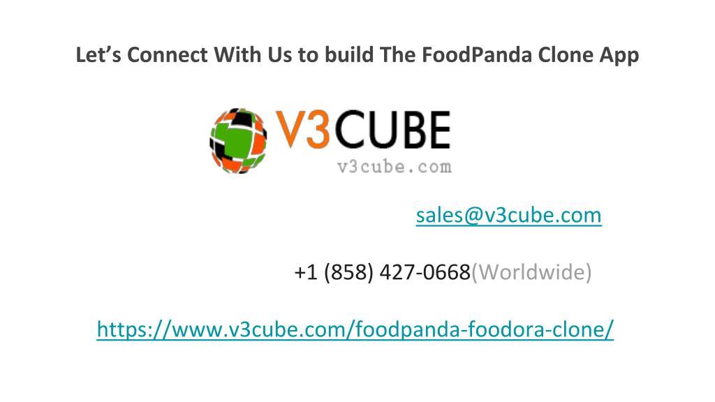 PPT - FoodPanda Clone App PowerPoint Presentation - ID:7972305