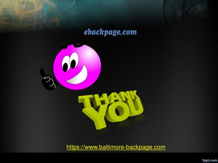 Https Www Baltimore Backpage Com